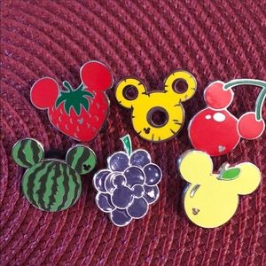 Disney Fruit pins Reserved until 2/26